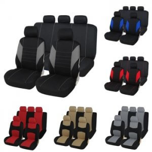 כיסוי מושבים לרכב בכל מיני צבעים